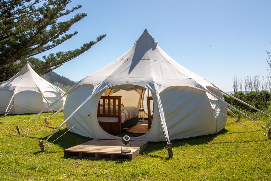 Glamping Tent, Tatapouri Bay